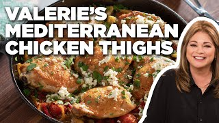 Valerie Bertinelli's Mediterranean Chicken Thighs   Valerie's Home Cooking