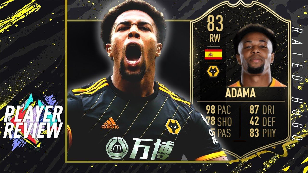 Adama Traore Inform Player Review 83 Fastest Player In Fifa 20 Fifa 20 Ultimate Team Youtube