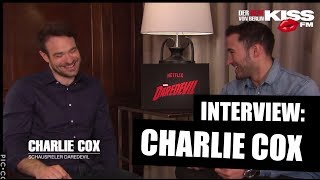 "Download Video Interview CHARLIE COX: ""Daredevil"" gay? + stunts & funny times MP3 3GP MP4"
