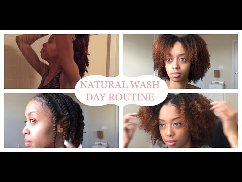EVERYDAY HEALTHY NATURAL HAIR WASH ROUTINE | START TO FINISH!! | VANIA'S VANITY