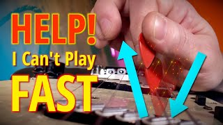 Help, I Can't Play Fast! Avoiding The Most Inefficient Motion In Picking