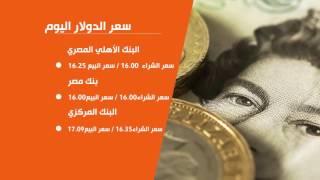 بالفيديوجراف .. الدولار يترنح فى البنوك بين 16 جنيها للشراء و16.50 للبيع