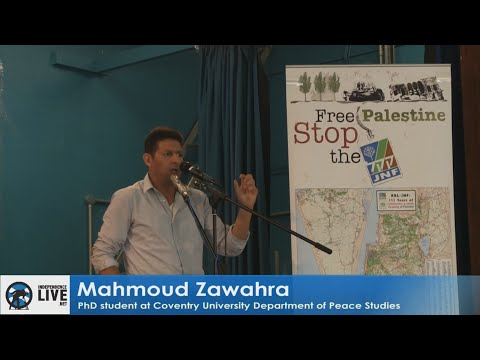 Mahmoud Zawahra - Settler Colonialism in Palestine 2016 Conference