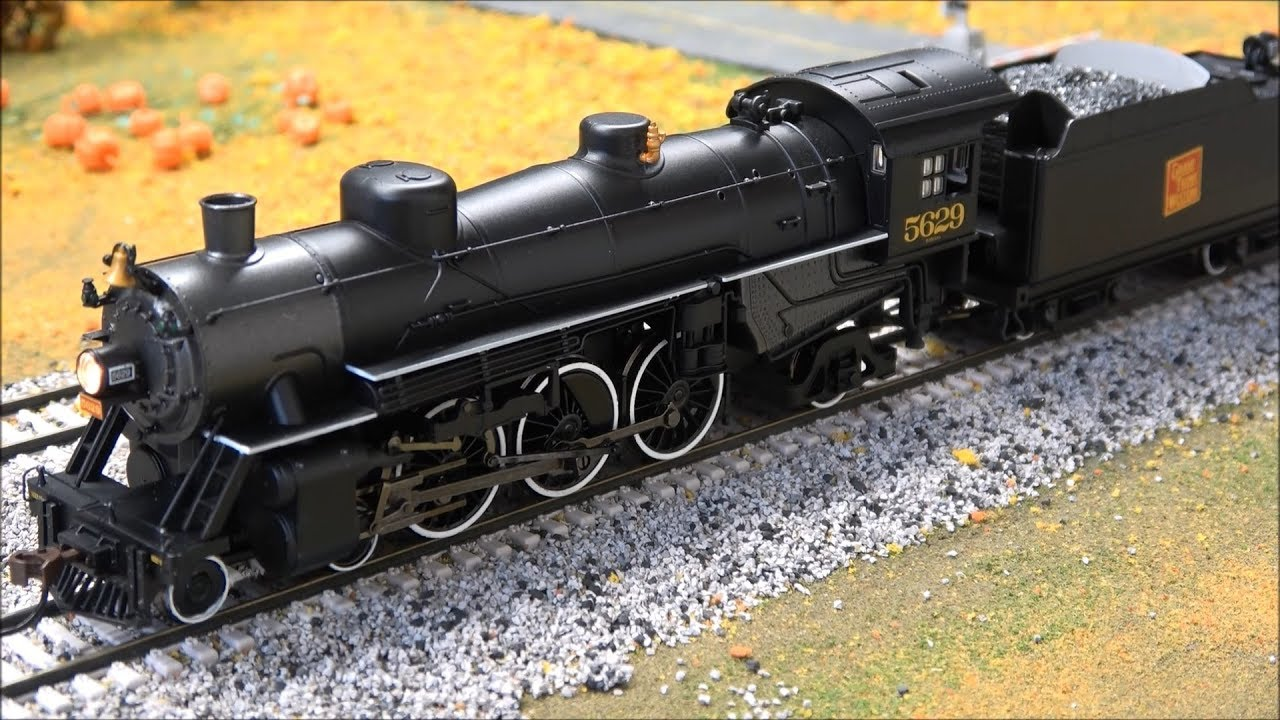 Product Demo: Bachmann USRA Light Pacific 4-6-2 Steam Locomotive DCC Sound