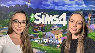 Playing SIMS 4! EP 1 - Merrell Twins Live