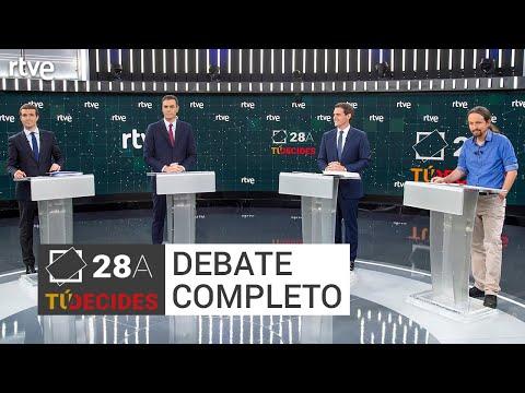 El primer debate a cuatro, un hito en la campaña