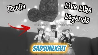 Ruelle - Live Like Legends (Coreografia) [Versão ROBLOX] | SadSunLight