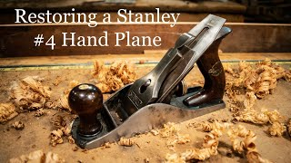 Restoring a Stanley #4 Hand Plane