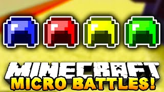 "Minecraft - MICRO BATTLES! ""KILLING SPREE!"" #9 - w/ Preston & Kenny"