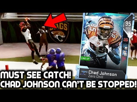 MUST SEE CATCH! ULTIMATE CHAD JOHNSON CAN'T BE STOPPED! Madden 19 Ultimate Team