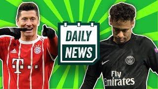 Lewandowski eyeing a transfer to the EPL? Neymar injury update + transfer news | Daily Football News