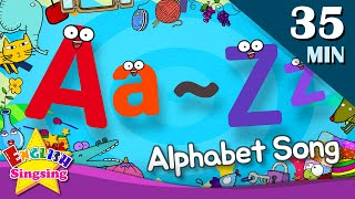 Alphabet Song  A to Z for Children  Collection of Kindergarten Songs