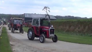 Brimfield vintage club tractor road run 2016