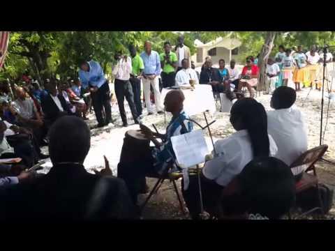 le tambour est en instrument de musique largement utilisé dans la culture haïtienne.