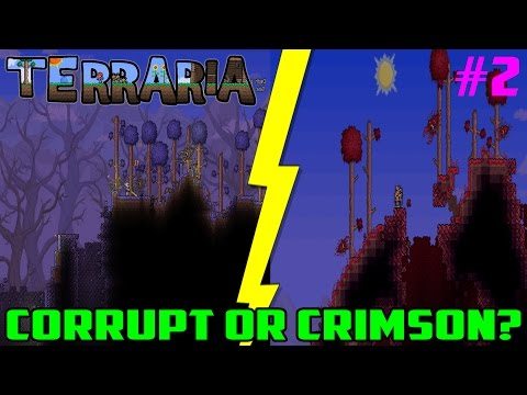 how to get both corruption in terraria