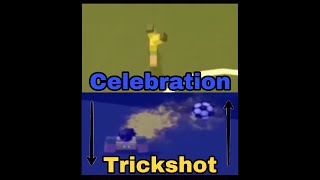 Roblox Kick Off How To Put Your Celebration As Your Trickshot and Your Trickshot As Your Celebration
