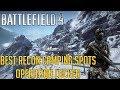 Battlefield 4 - BEST Recon Camping Spots in Operation Locker