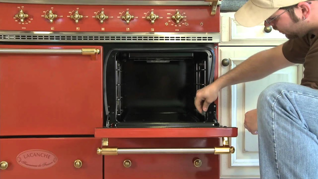 How to install the oven 90