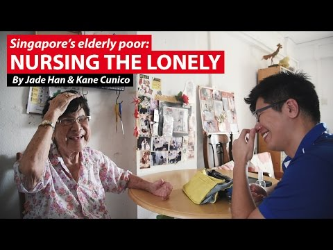Nursing the Lonely | Singapore's Elderly Poor | CNA Insider
