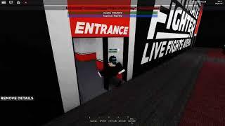 Roblox UFC Performance Institute Las Vegas, Nevada