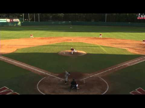 NC State Baseball – Brett Williams Awesome Catch [2]