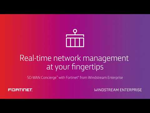 SD-WAN Concierge™ with Fortinet from WE: Real-time network management at your fingertips