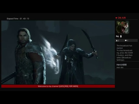 Middle earth shadow of war PT9 Makus rise to power, Conquering fortresses, doing story