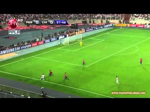 Perú 1 - 0 Chile - Clasificatorias Brasil 2014
