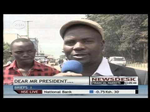 Kakamega residents captivated by President Kenyattas overnight stay in Kakamega State Lodge