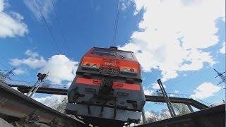 под поездом 360 Under the train vr gear 360