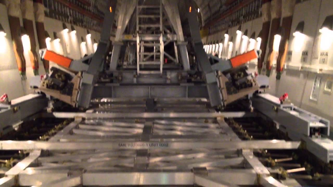Cargo Bay Of The Boeing 747 Lcf Variant The Dream Lifter