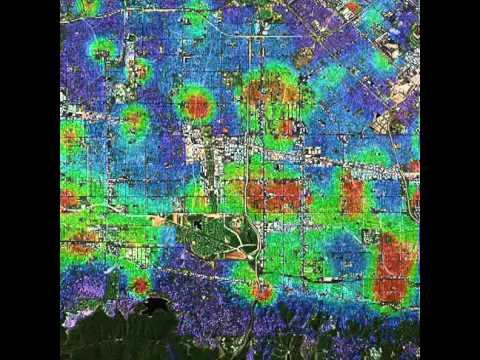 Simulation of crime hotspots in the San Fernando Valley