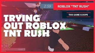 "ROBLOX ""TNT RUSH"" - THIS GAME IS DOPE"