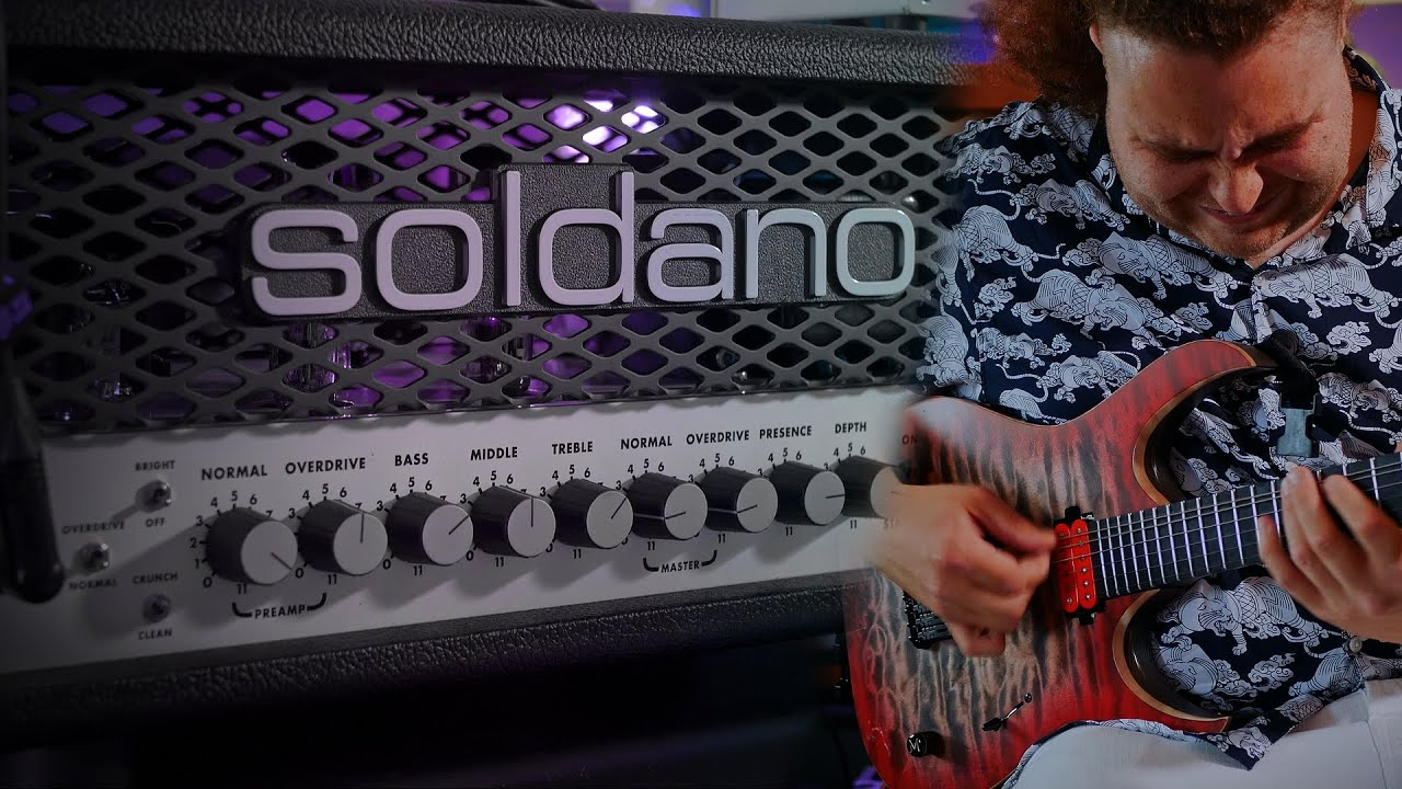 British man pretends he's on holiday with the Soldano SLO30