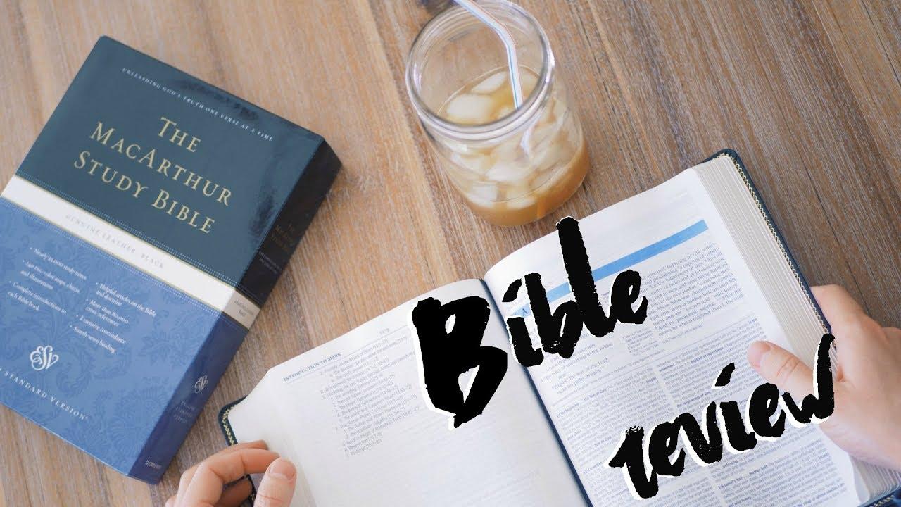 ESV MacArthur Study Bible Review