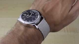 Victorinox Swiss Army Infantry Mechanical Watch Review