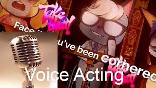 Voice Acting the Animal Crossing Danganronpa Fan Project
