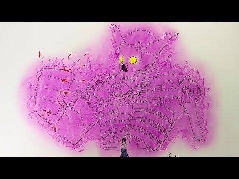 drawing-sasuke-susano---naruto-shippuden