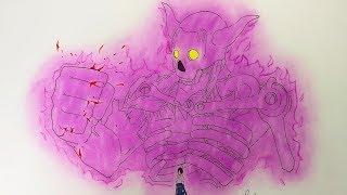 Drawing Sasuke Susano - Naruto Shippuden