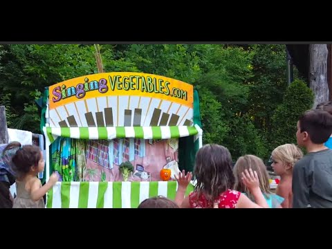 The Singing Vegetable Puppet Show for Kids (LIVE)
