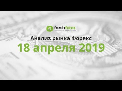 📈 Анализ рынка Форекс - 18 апреля 2019 [FRESHFOREX.ORG]