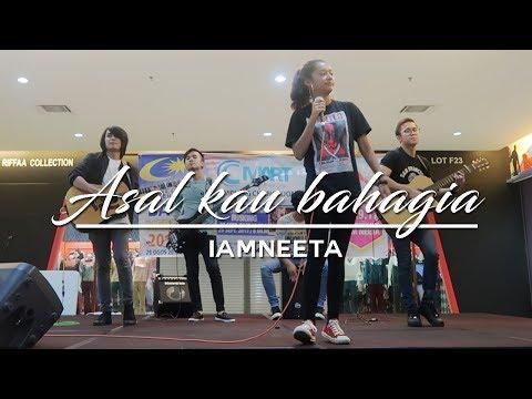 iamNEETA | Asal kau bahagia (Cover) Live acoustic