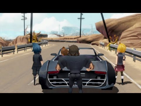 FINAL FANTASY XV POCKET EDITION Announcement Trailer