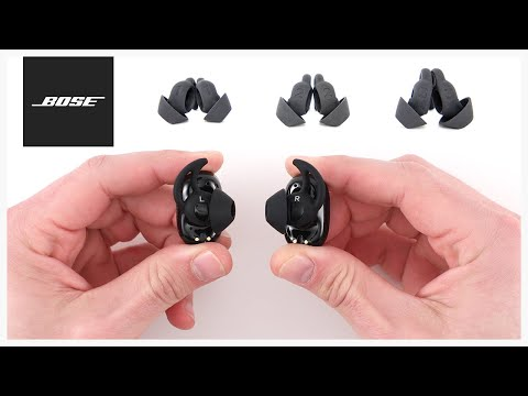 Bose StayHear™ Max Tips - Getting the Proper Fit