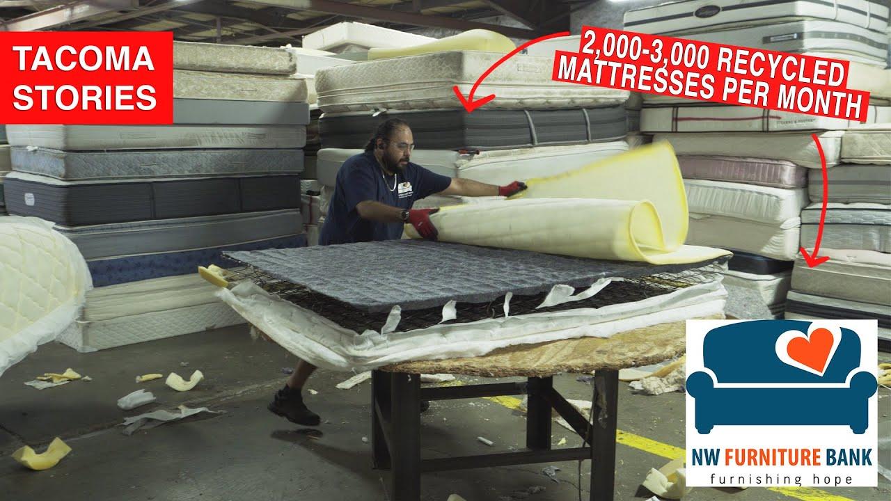 Tacoma  MATTRESS Recycle | NW Furniture Bank | 4K