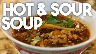 How To Make Hot And Sour Soup -  Indian Chinese Recipe