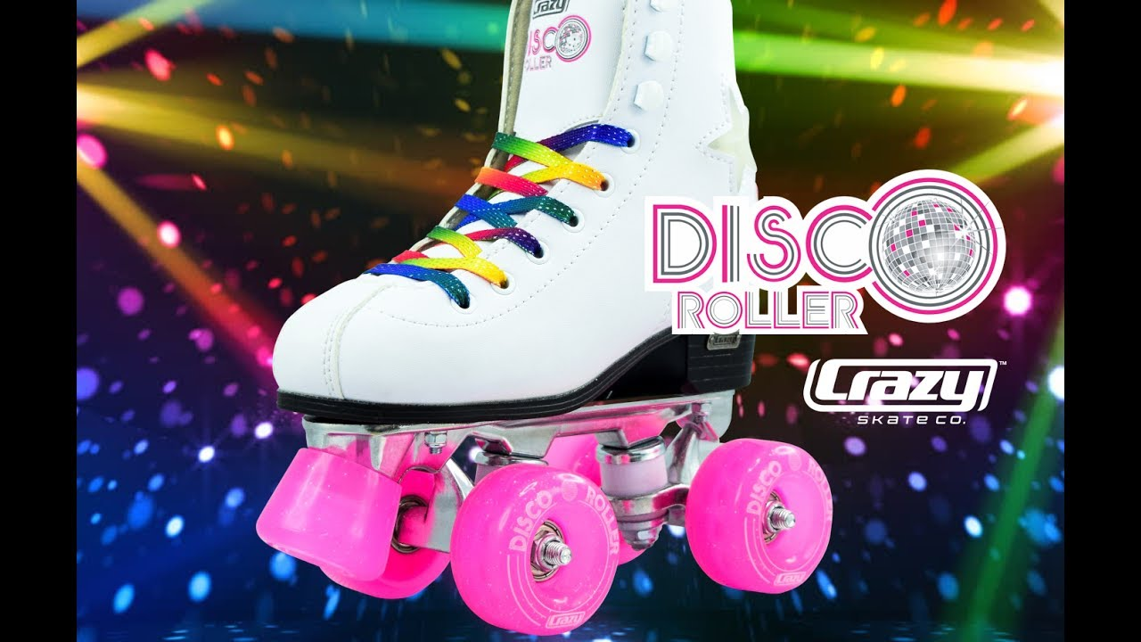 81db4f78f67c Disco Roller by the Crazy Skate Company - YouTube