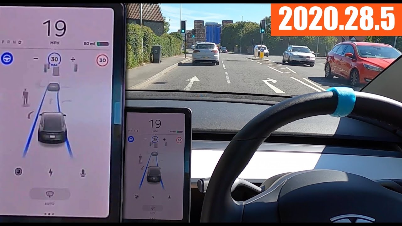 Autopilot on roads I've never used Full Self Drive on before! - Tesla 2020.28.5 Update