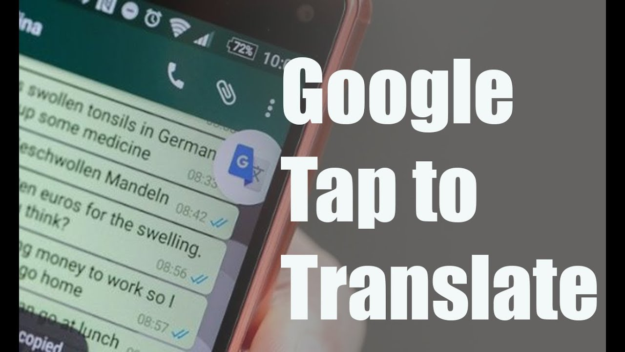 How to Enable Google Translate Button on WhatsApp