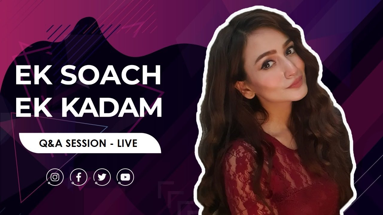 Zarnish Khan | Q&A Session With The Fans - Live
